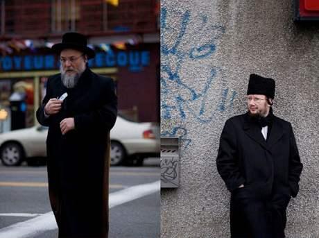 Ortodoxní Židé na ulicích Montrealu