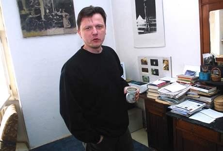 Spisovatel Jan Balabán, rok 2003