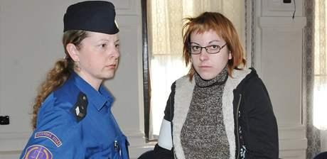 Lenka Blatová čelí u Krajského soudu v Brně obvinění, že chtěla zabít vlastní matku