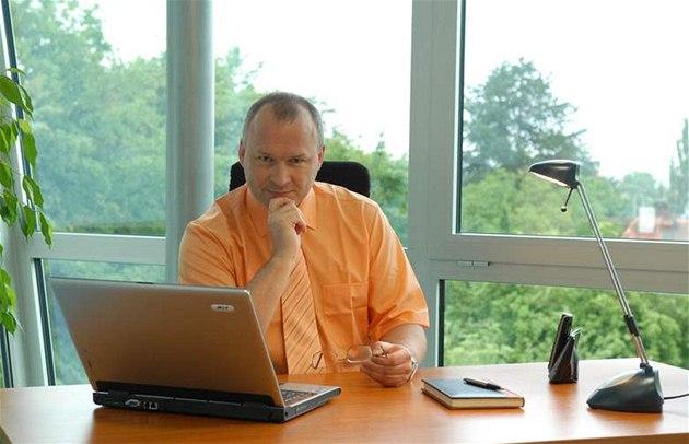 Podnikatel Tomá� Je�ek, majitel firmy Je�ek software