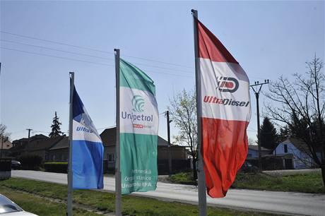 Partnerské čerpací stanice společnosti Unipetrol RPA 2