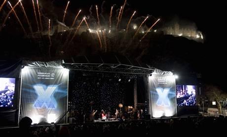 Festivaly v Británii. Ilustrační foto