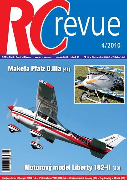 Titulka časopisu RCrevue