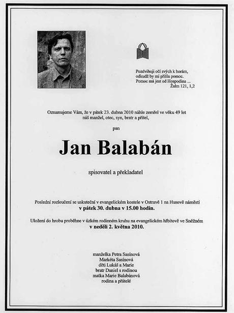 Parte Jana Balabána