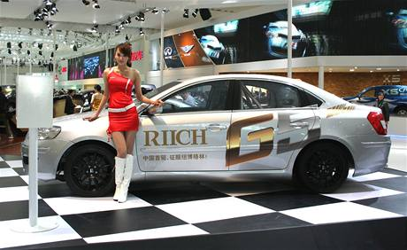 Autosalon Peking 2010: Riich G5