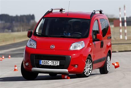 Fiat Qubo v losím testu
