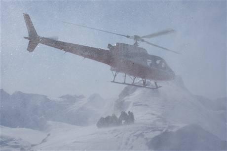 freeridové lyžování na Aljašce