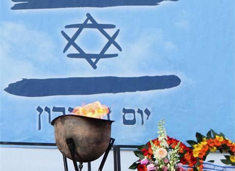 Momentka z oslav vyhlášení nezávislosti Izraele