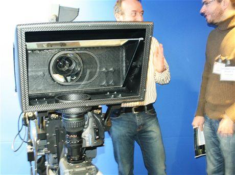 3D Sony 3D mirror rig