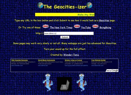 Geocities-izer
