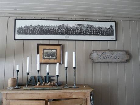I obrazové dekorace ladí sprostředím zátoky