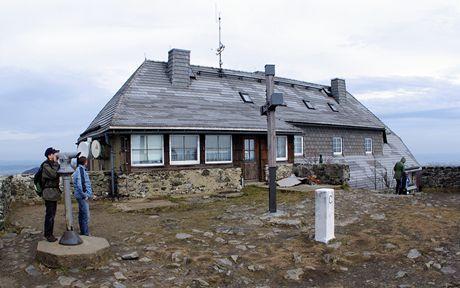 Německá chata na Hvozdu