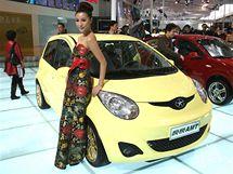Autosalon Peking 2010:  JAC AMT připomínající malé toyoty