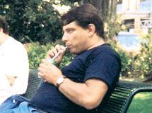 Jiří Paroubek na dovolené ve švýcarském Lausanne.