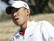 Anthony Kim, třetí kolo Ballantine´s Championship 2010.