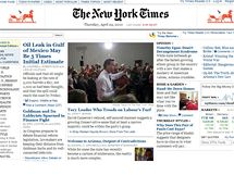 The New York Times (a la Geocities)