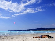 Itálie, Maremma, Vada - Bílá pláž