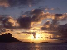 Norsko, Lofoty, plavba z Bodo do Moskenes - půlnoc