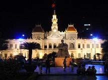 Vietnam, Saigon, radnice