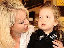 Lenka Hornová s dcerou Laurou