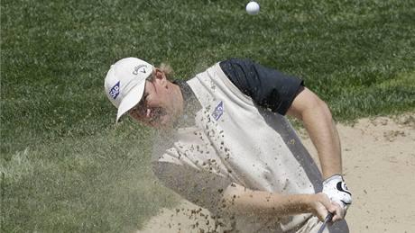 Ernie Els, třetí kolo Ballantine´s Championship 2010.