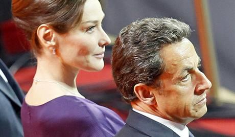EXPO 2010: Prezident Francie Nicolas Sarkozy s manželkou Carlou
