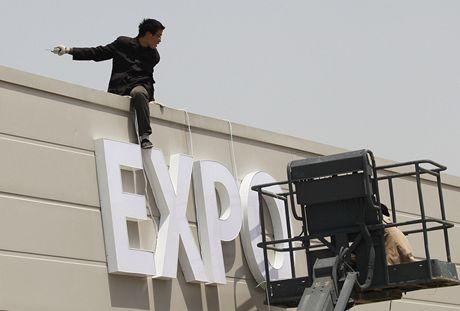 EXPO 2010: Poslední úpravy před zahájením expozice