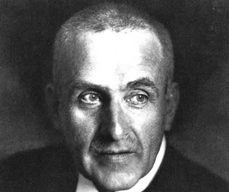 Spisovatel Frank Wedekind (24.07.1864 - 09.03.1918)
