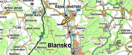 Ve Spešově na Blanensku se pod autobusem se školáky utrhla krajnice