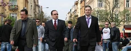 Předseda Dělnické strany sociální spravedlnosti Tomáš Vandas