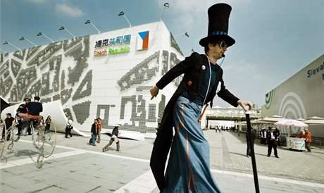 český pavilon na EXPO 2010 v Šanghaji
