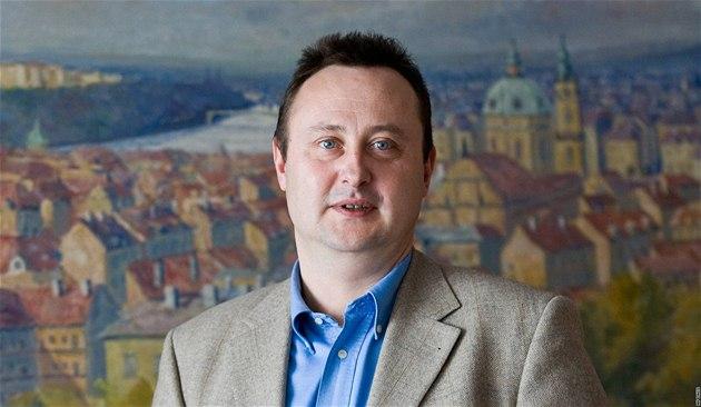 Radní Prahy 10 a podnikatel Tomáš Hrdlička.