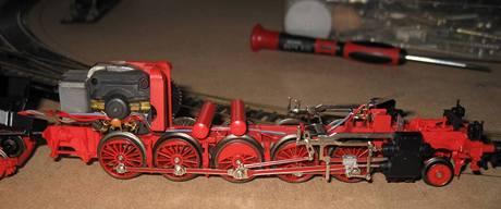 Modely - lokomotiva