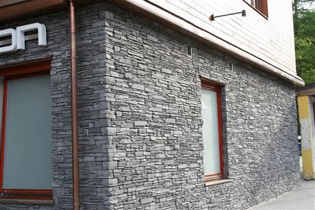 Umělý kámen na fasádu