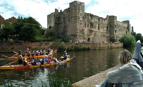 Nottinghamský hrad .