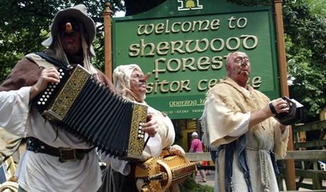 Sherwoodské návštěvnické centrum.