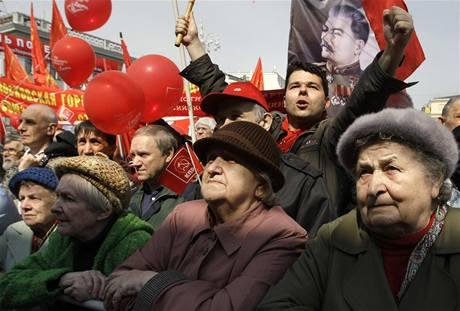 Prvomájová oslava v Moskvě (2010)