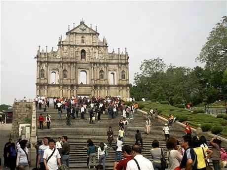 Macao - historické centrum