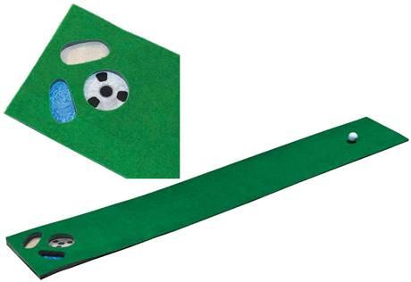 Tréninkový golfový kobereček na patování.