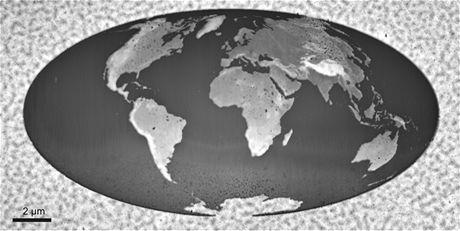 Nejmenší 3D mapa světa
