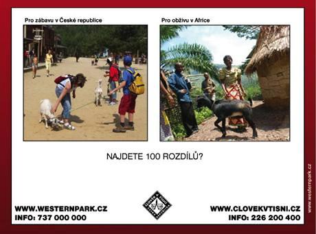 Za výtěžek z půjčovného zakoupí Člověk v tísni kozy pro chudé africké rodiny.