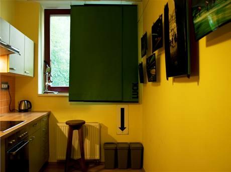 Originální byt ohromí zajímavými nápady a ložnicí v komiksovém stylu