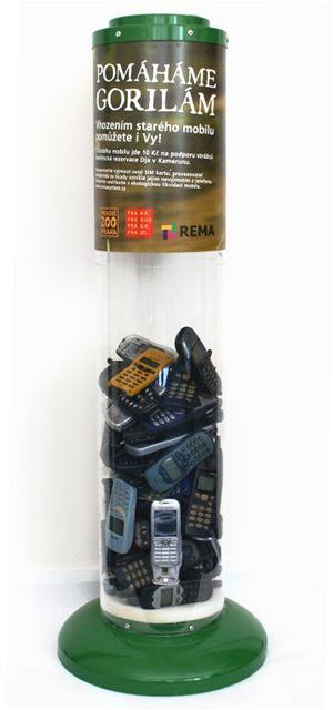 Projekt sběru a recyklace mobilů