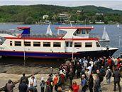 Křest nové lodi Lipsko a zahájení plavební sezony na Brněnské přehradě.