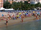 Alicante, pláž Postiguet
