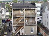FBI prohledává dům ve městě Bridgeport ve státě Connecticut, kde žil Faisal Shahzad (4. května 2010)