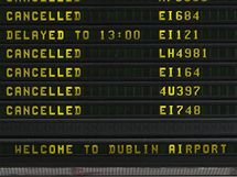 Irská letiště uzavřel nový prach vulkanického popela (4. května 2010)