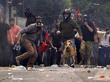 Protesty v Řecku (5. května 2010)