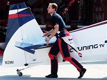 Martin Šonka před dalším závodem Red Bull Air Race v Rio de Janeiru