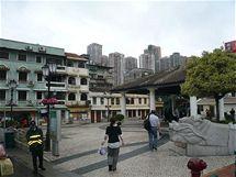 Macao - ostrov Taipa